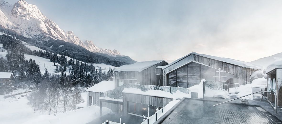 Top 10 luxury alpine spa resorts white line hotels for Luxury hotels austria