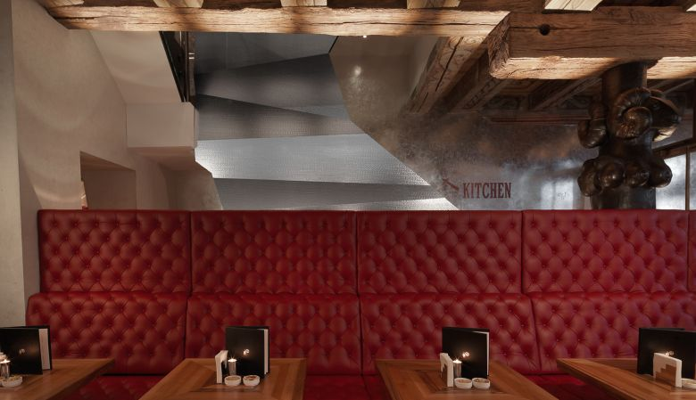 Interior design Widder Bar & Kitchen Zurich, Switzerland