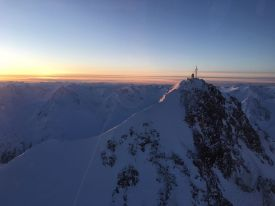 Sunrise over the Wildspitze, Tirol, Austria