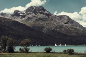 Engadin, Grison, Switzerland
