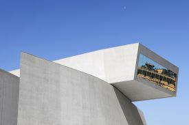 Zaha Hadid's architectural masterpiece, the MAXXI museum in Italy's Rome